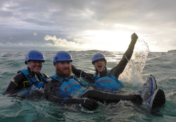 Coasteering training