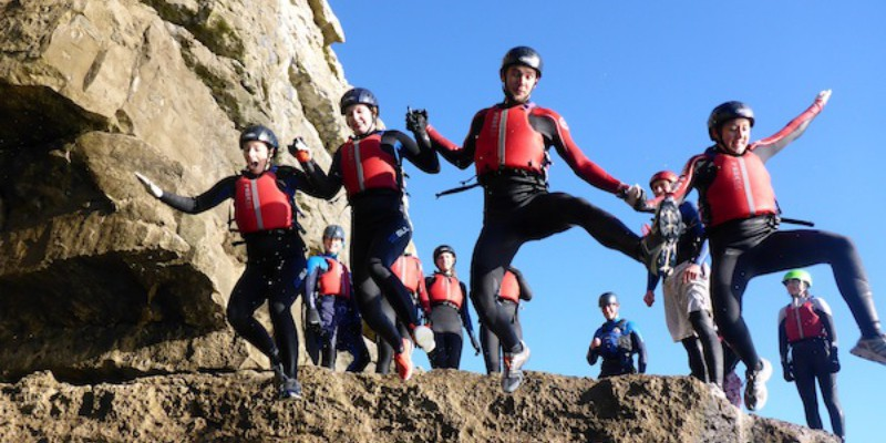 coasteering near London