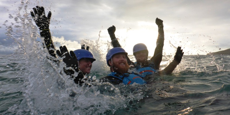 Coasteering from London