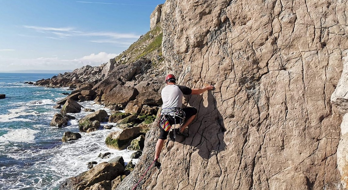 Climbing with a disability in Dorset