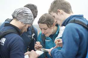 DofE. Map reading